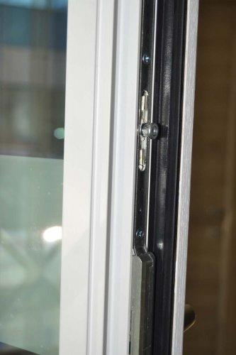 Finestra in Alluminio esterno bianco e Legno interno bianco venato frassino (5)