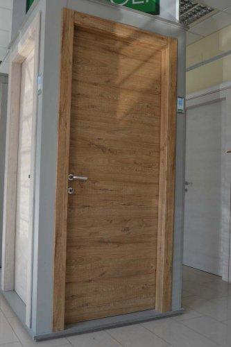 porta liscia colore QUERCIA BIONDO (1)